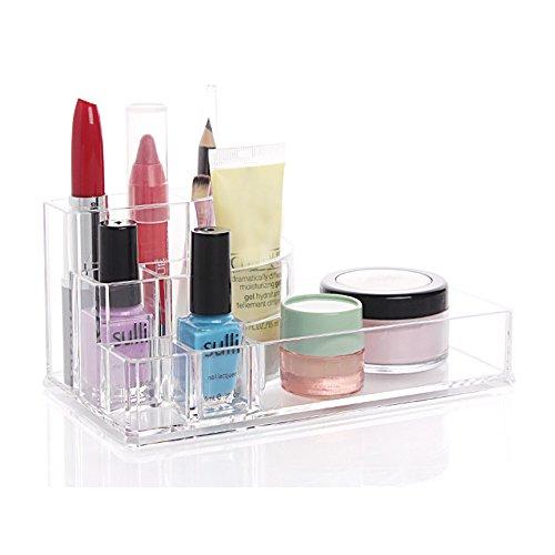 Fieans Top Quality Acrylic Makeup Brush Pen Holder Brush Organizer Lipstick Brush holder Nail Polish Cosmetic Holder-Type A