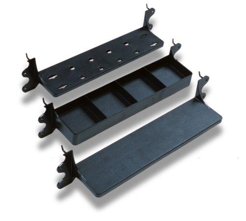 Heininger Automotive Black 5560 GarageMate VersaShelf 3 Pack Shelving System