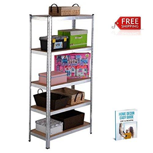 Closet Storage Shelves for Garage Racks Storage Home Shelving Steel System eBook by AllTim3Shopping