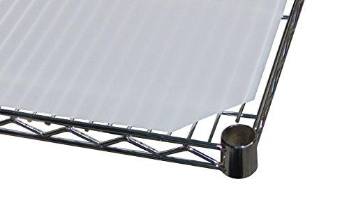 18 Deep x 60 Wide Plastic Shelf Liner