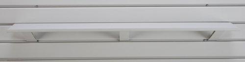 Jifram Easy Living 01000065 Easy Wall 36-Inch Plastic Shelf Light Gray