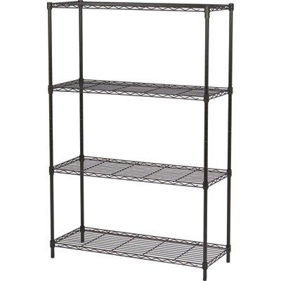 Ironton Wire Shelving System - 4-Shelf 250-lb Capacity Per Shelf 36inW x