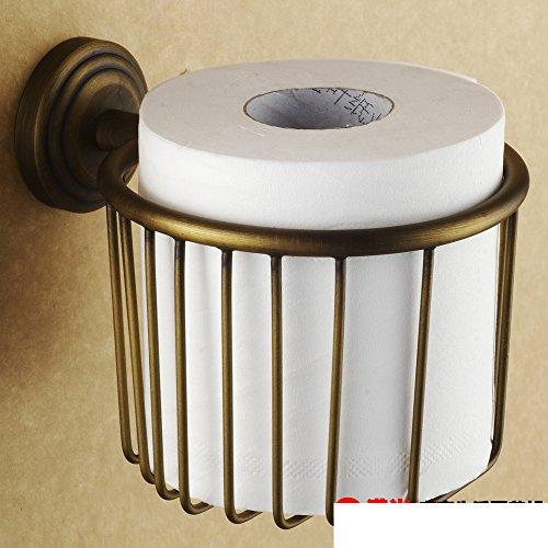European style Towel rack paper barrelsRetro toilet paper barrelsToilet paper holderBasket