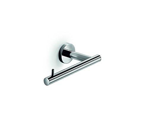 LB Spriz Wall Toilet Paper Holder WO Lid Tissue Roll Hanger Dispenser Chrome