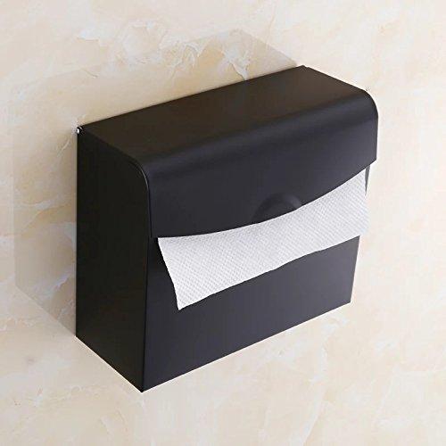 Toilet Paper Holder Decorative Stainless Steel Bathroom Toilet Paper Holder Roll Tissue Box Wall Mounted Holder Toilet Paper Holder Brass