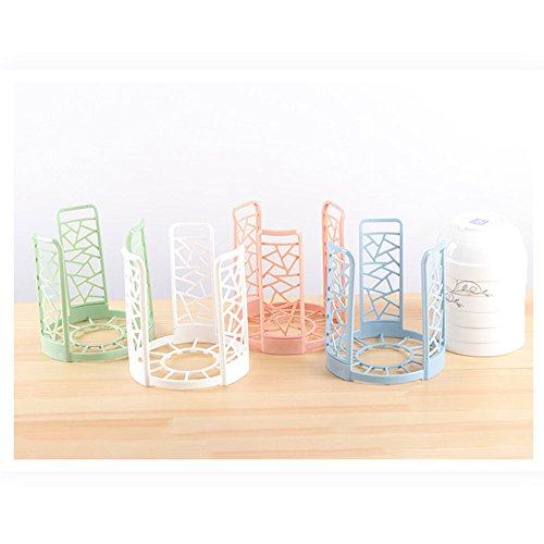 Kxtffeect Drain Bowl Shelf Bowls Organizer Drain Water House Dish Rack Bowl Holder Plastic Grids Kitchen(Random Color)