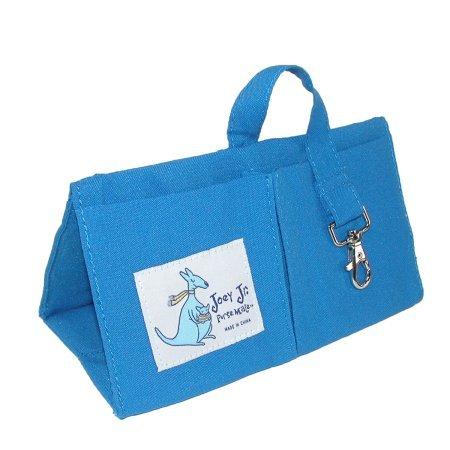 Joey Junior Womens Compact Handbag Organizer Insert Blue Lagoon WLM