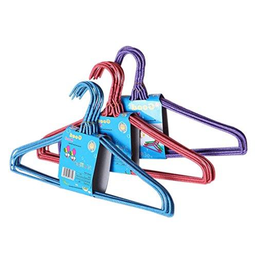 Jiyaru Metal Coat Hanger Drying Rack Cloth Hanger Holder Suit Hanger 3Bundle