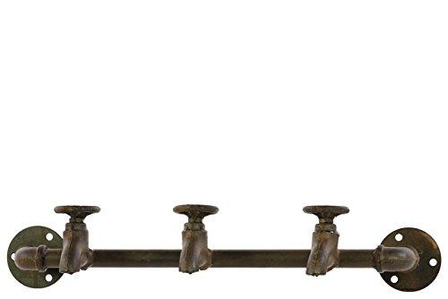 Urban Trends Metal Coat Hanger Brown