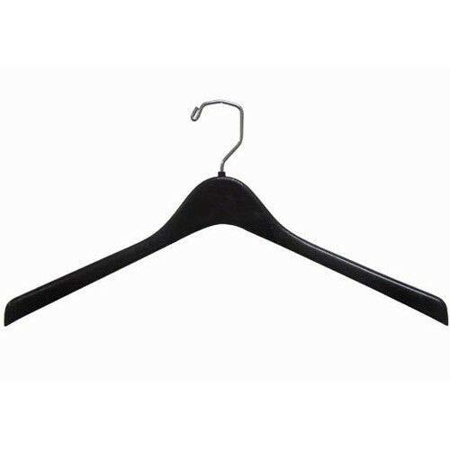 Plastic Top-Coat Hanger 18 Black