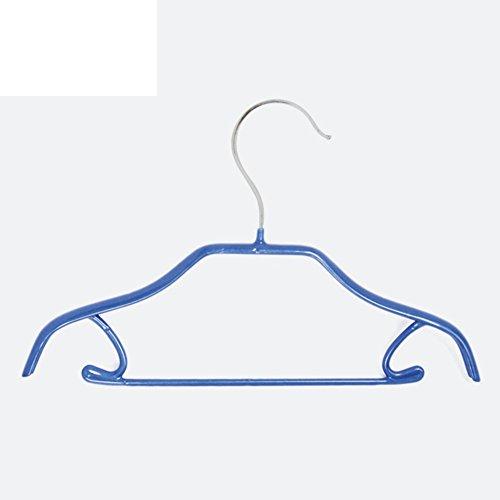 DXG&FX PVC Anti-Slip Hangers for Children Baby boy Coat Hanger Lingerie Dress up-B