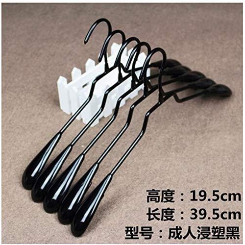 Xyijia Hanger 10PcsLot Plastic Anti-Slip Childrens Coat Hanger Adult Hanging Clothes Rack