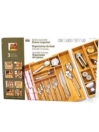 Classics Bamboo Expandable Drawer Organizer