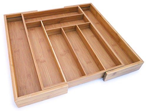 Culina Bamboo Utensils Drawer Expandable 18 x 1275 X 2