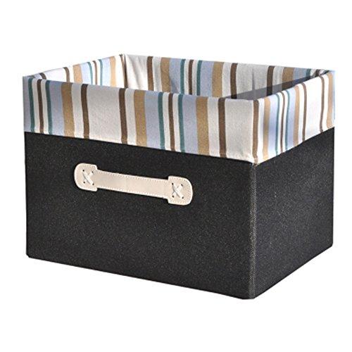 Black Household Storage Box Storage Basket Drawer Organizer Multifunctional