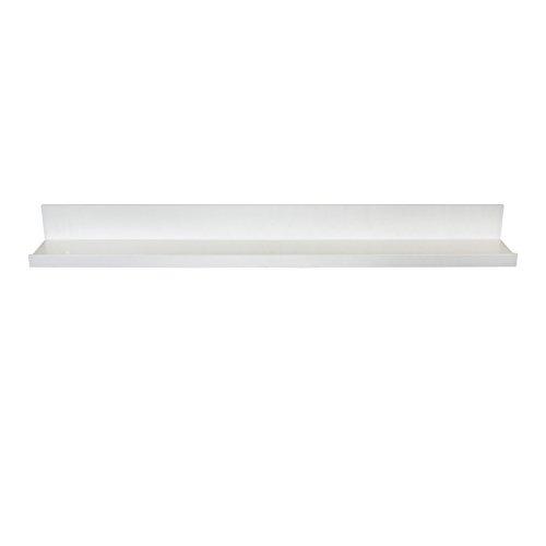 InPlace Shelving 9084678 Picture Ledge Floating Shelf 36-Inch Long White