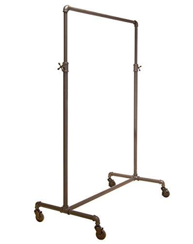 Econoco Pipeline Adjustable  2-Way Ballet  Vintage Rolling Rack