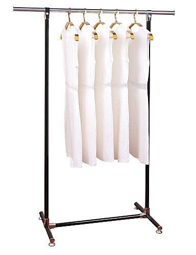 LI LiRen Metal Clothes Racks Indoor Outdoor Clothes hangers Stand Floor Outdoor Clothes Laundry Hanger Rack