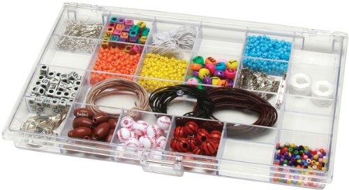 Darice 10-12-Inch by 6-12-Inch Plastic Storage Box