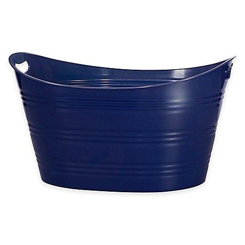 "Creative Bathâ""¢ Storage Tub in Navy"
