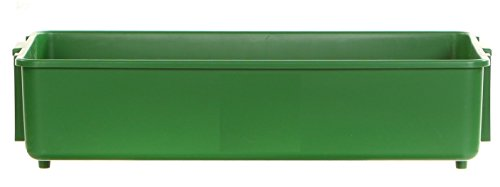 Mighty Max Cart Plastic Stackable Storage Tub Green