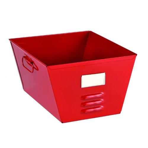 STEELMASTER Storage Tub with Locker Design 75 x 1243 x 1144 Inches Red 20610007