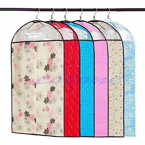 Stilot Canvas Home Dress Clothes Garment Suit Cover Case Dustproof Storage Bag Protector 3Size M