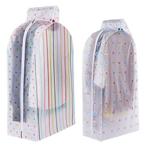 Suit Garment Bag Garment Bag Clear - Storage Bag Case for Clothes Organizador Garment Suit Coat Dust Cover Protector Wardrobe Storage Bag for Clothes Organizador - Garment Bag Clear L