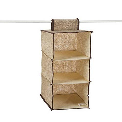 fengg3063shann Cloth hanging storing hang the bag the bag Closet Wardrobe drawers finishing laundry bag storage bag Guadai wardrobe bag Guadai wardrobe Sack bag Guadai