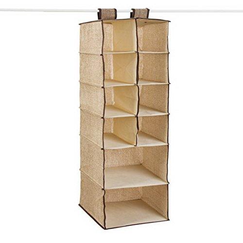 fengg3064shann Cloth hanging storing hang the bag the bag Closet Wardrobe drawers finishing laundry bag storage bag Guadai wardrobe bag Guadai wardrobe Sack bag Guadai