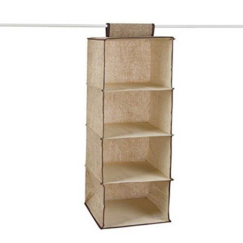 fengg3077shann Cloth hanging storing hang the bag the bag Closet Wardrobe drawers finishing laundry bag storage bag Guadai wardrobe bag Guadai wardrobe Sack bag Guadai