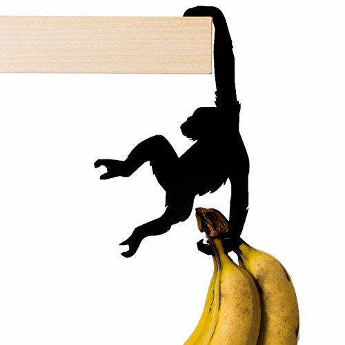 AD279 - Hold it - Albert the Chimp - Black Metal Shelf Hanger