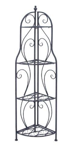 Deco 79 Metal Corner Rack Home Decor Product 60H17W