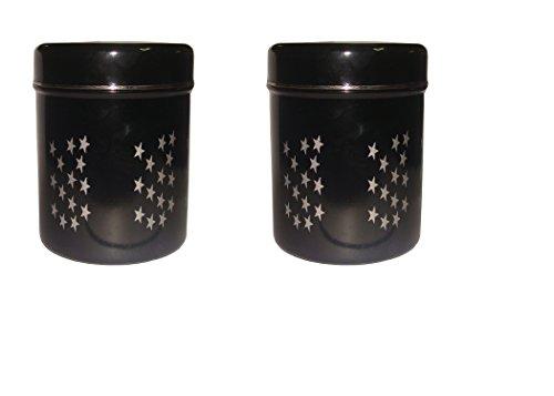 King International Stainless Steel Black Storage Box  Deep Dabba Food Storage BoxFood storage containers