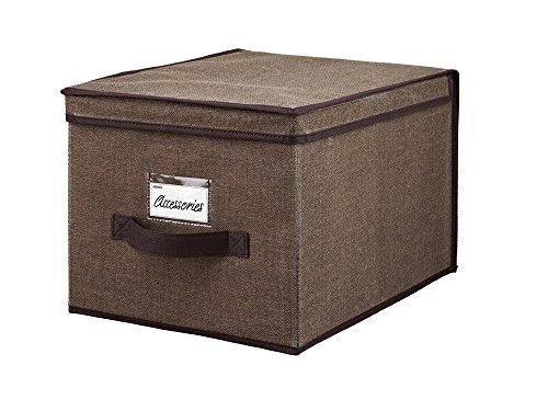Simplify Large Storage Box Espresso