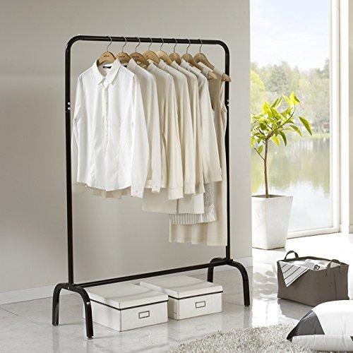 Floor bedroom hanging coat rack hanger shelf hanging clothes shelves Interior simple hanger